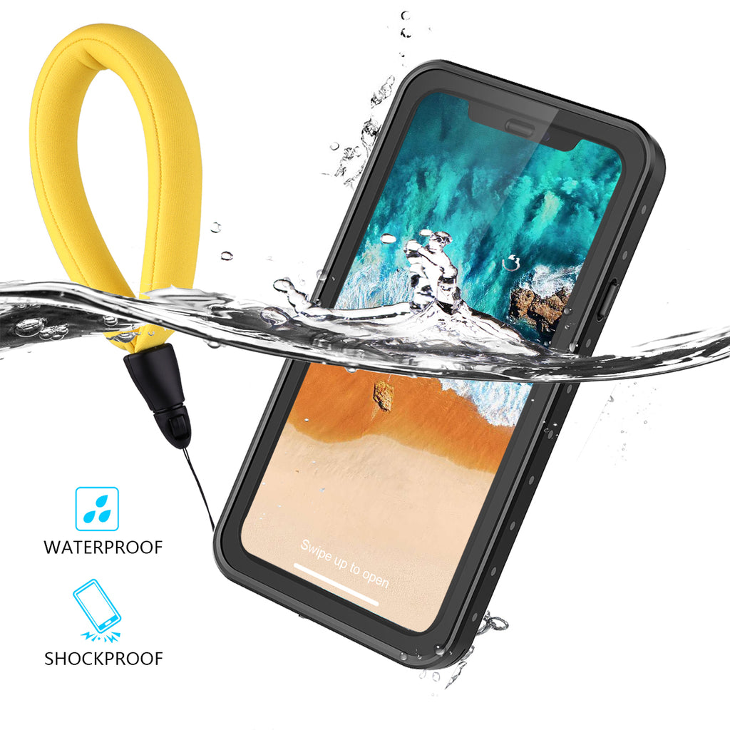 iPhone X / XS Waterproof Case with Floating Strap