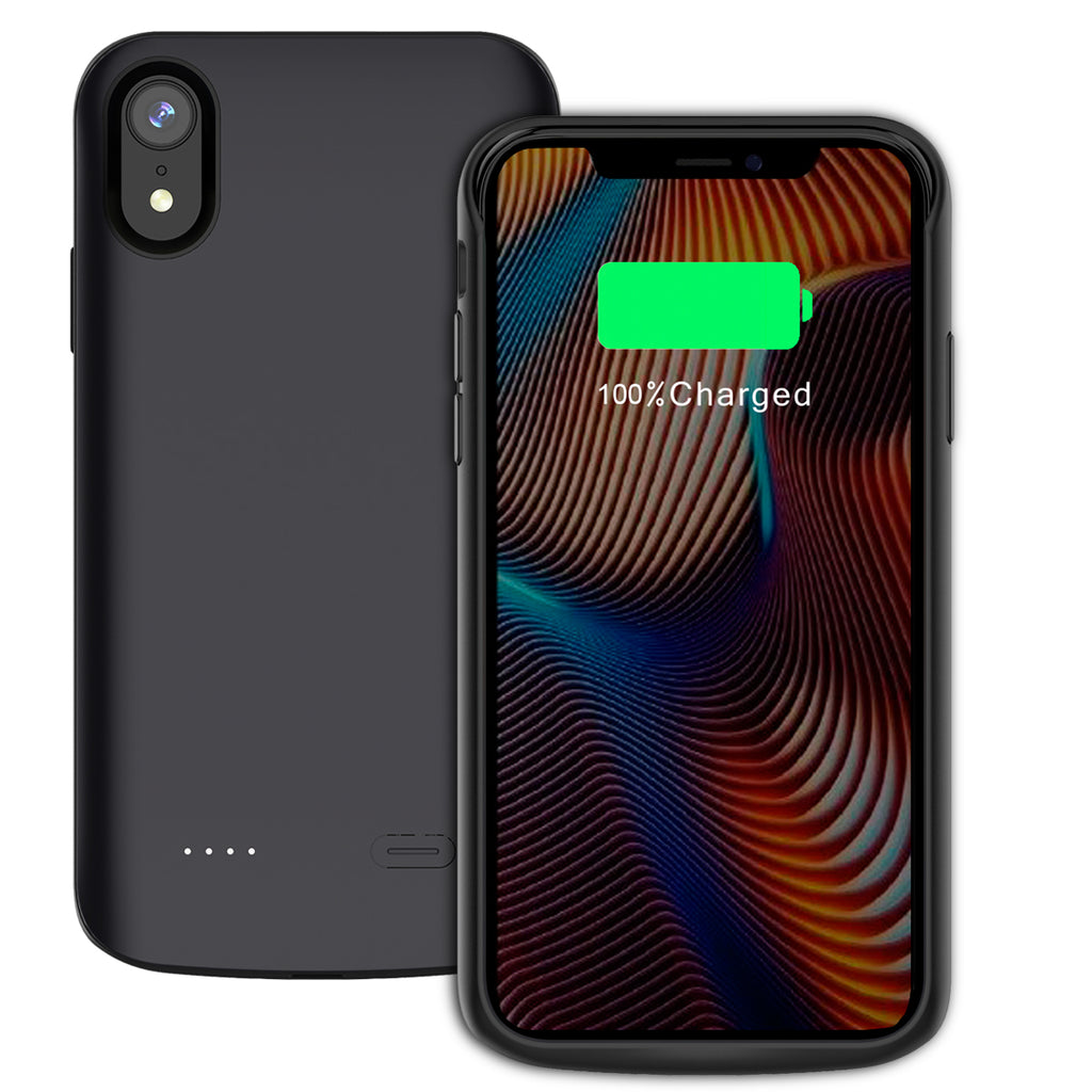 Moonmini iPhone XR 6000mAh Battery Case Portable Charger
