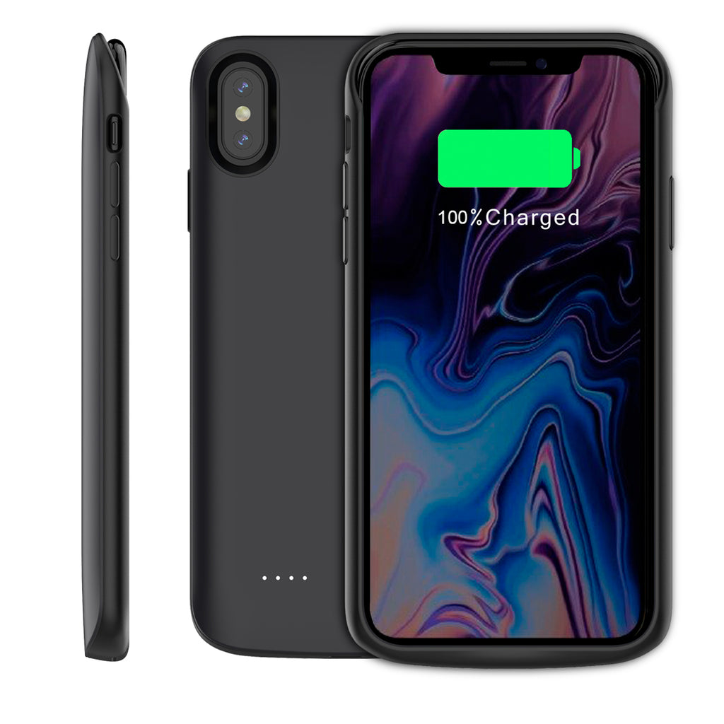 iPhone Xs Max Battery Case Portable Charger 3600mAh