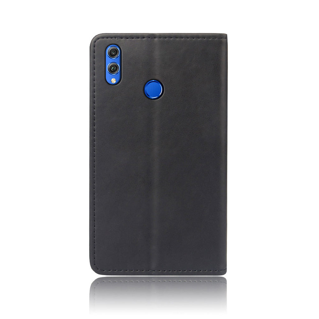 Huawei Honor 10 Lite 2019 Leather Case Slim Shockproof Stand Function Card Slot Flip Cover