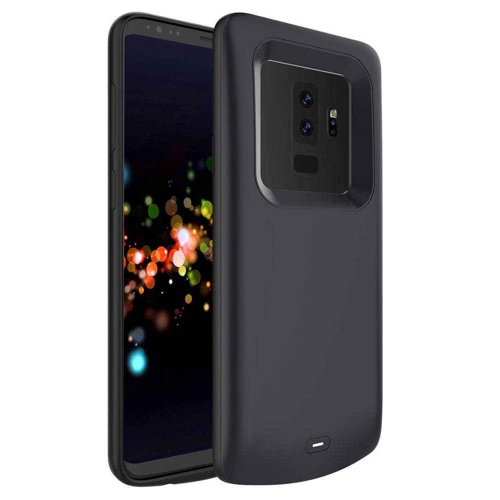 Samsung Galaxy S9 Plus Battery Case 5200mAh External Backup Charger Cover Black