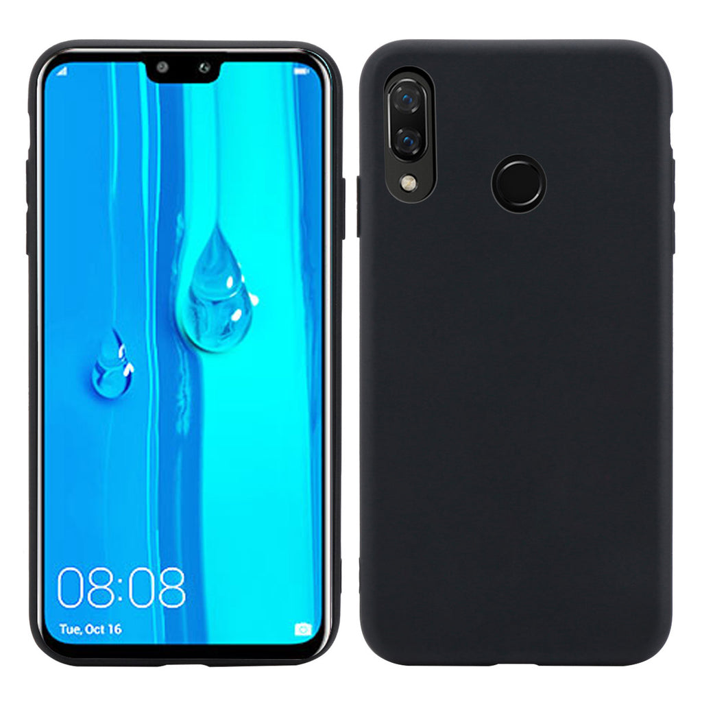 HUAWEI Y9 PRIME 2019 Case TPU Anti-Scratch Shock Absorption Cover Black
