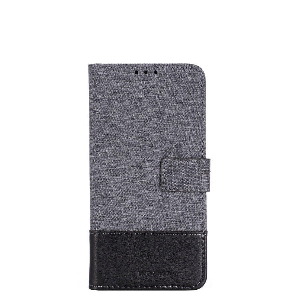 Wallet Case for Xiaomi Mi Note 10 Folio Cover Leather with Credit Card Wallet Holder Black