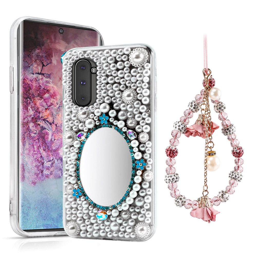 Bling Case for Galaxy Note 10 Glitter Rhinestone Diamond Shockproof Protective Case #3