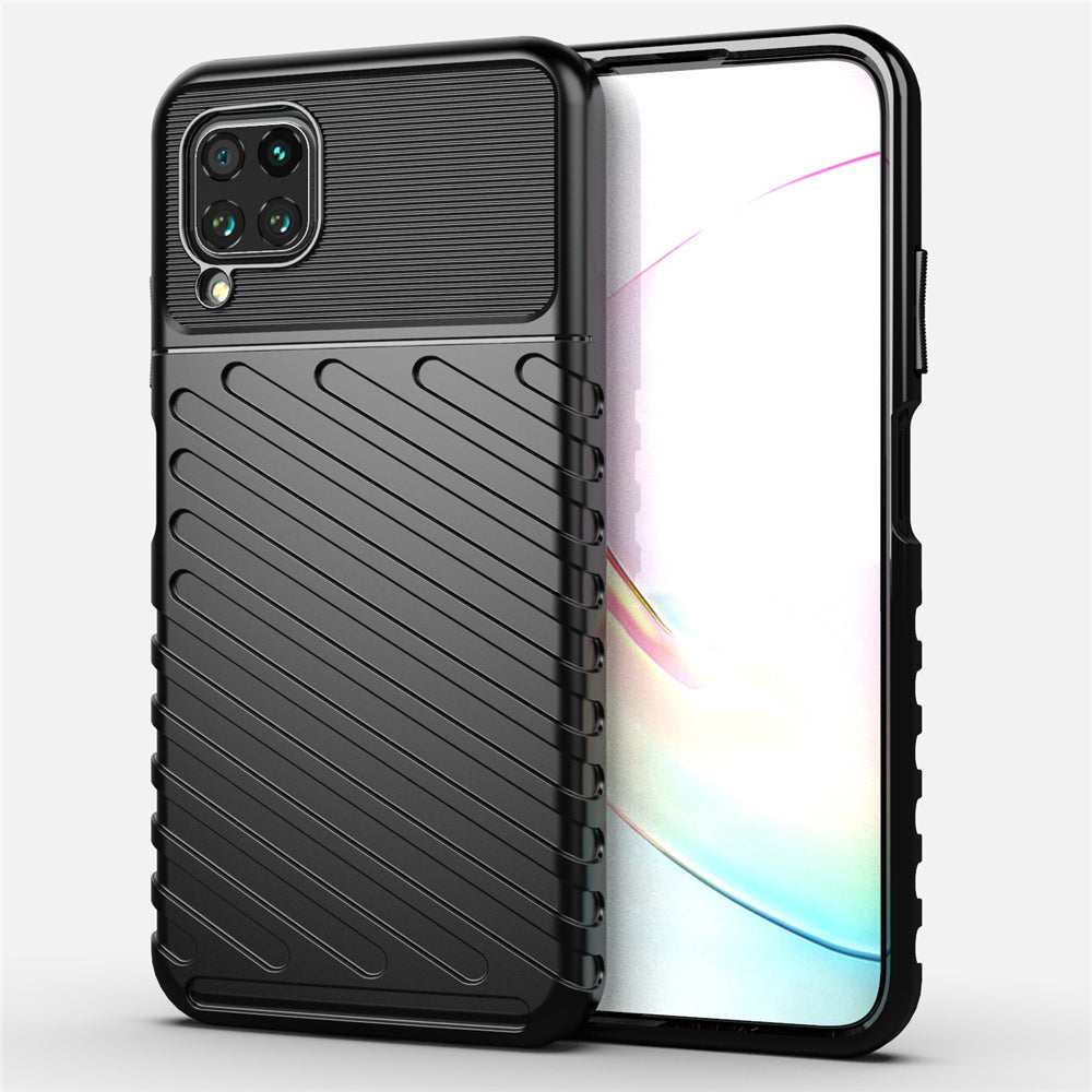 Huawei Nova 6 SE Case TPU Anti-Scratch Protective Cover Frosted Texture Case Black