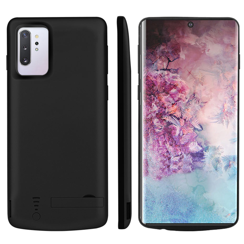 Battery Case for Galaxy note 10 plus 5G 5000mAh Portable Charging Case Black