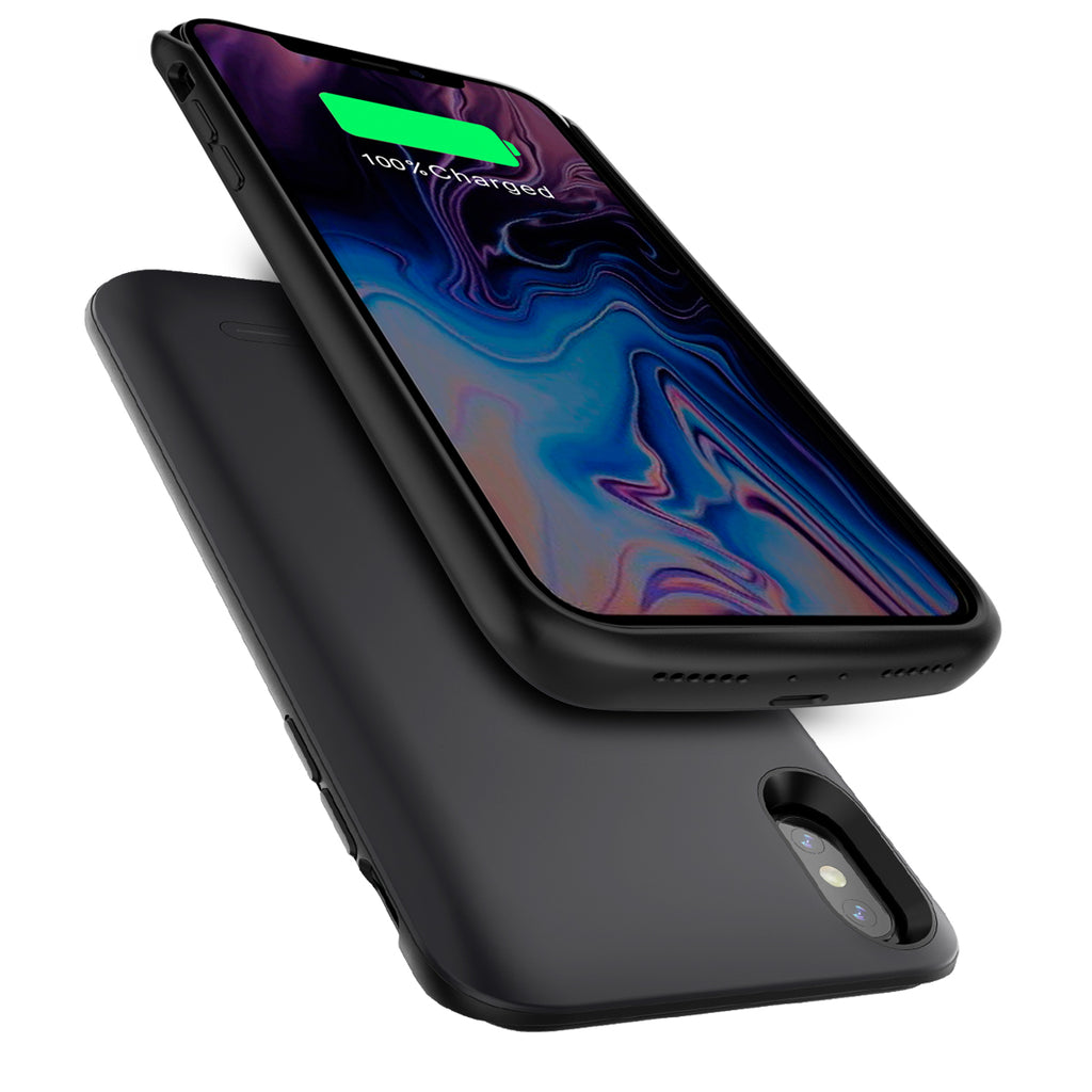iPhone Xs Max Battery Case 6000mAh Rechargeable