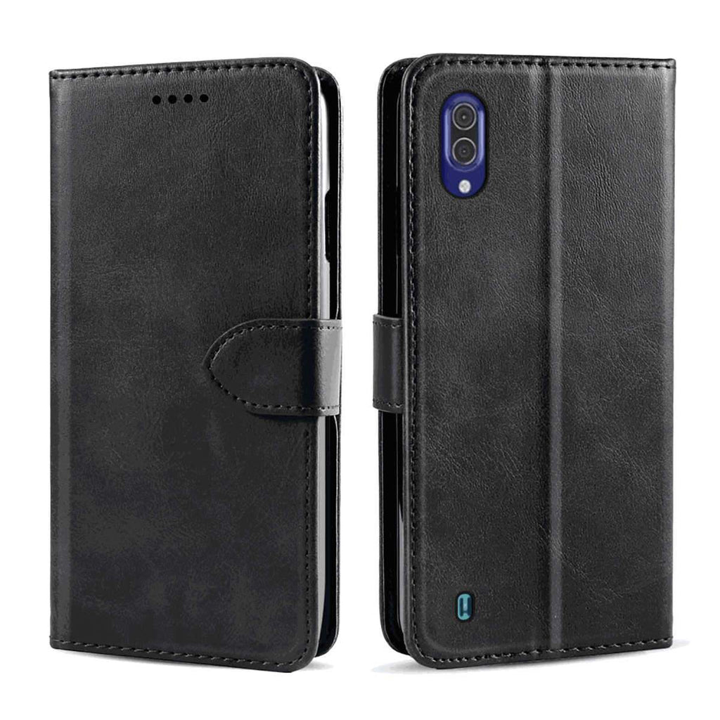 Hisense HLTE217T Leather Case PU Leather Wallet with Viewing Stand and Card Slots Flip Cove Black