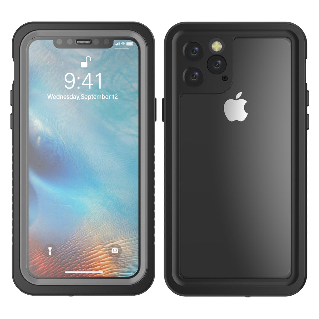 iPhone 11 Pro Waterproof Case Built-in Screen Protector Rugged Shockproof Dustproof Case