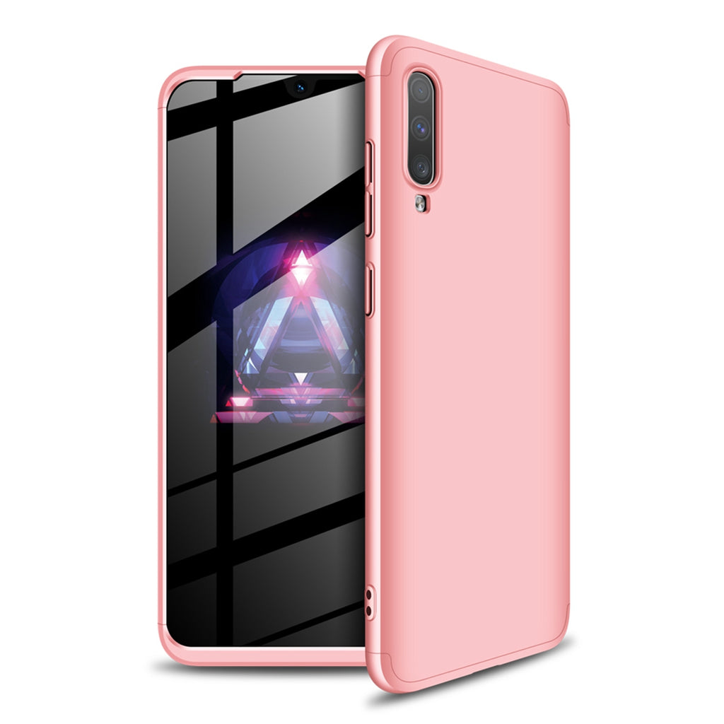 Samsung Galaxy A70s Case Ultra-Thin Shock-Absorption PC Hard Cover Rose Gold