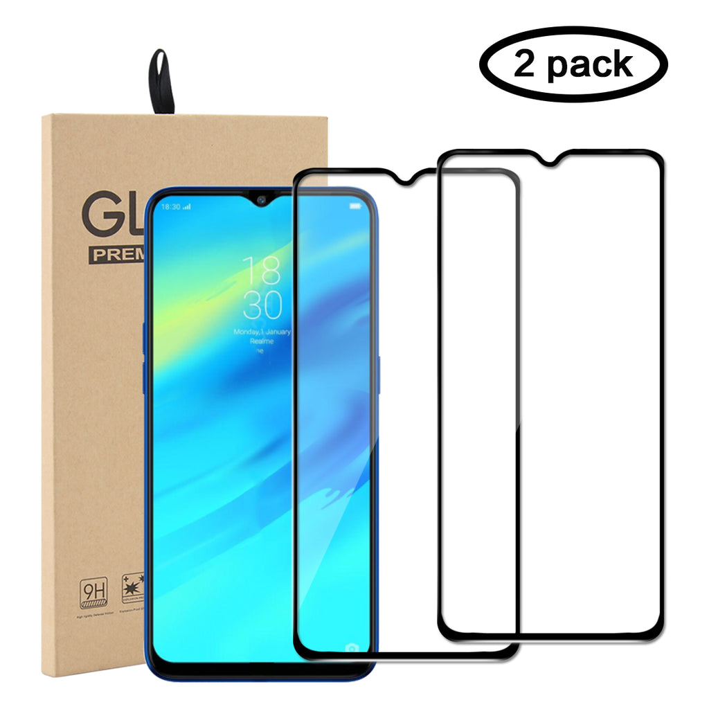 Oppo Realme X2 Pro Tempered Glass Anti Scratch Full Screen Protector 2 Pack