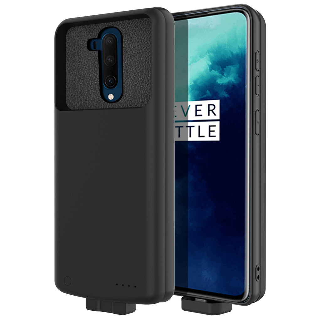 Battery Case for Oneplus 7T Pro Magnetic Battery Pack 7000mah Extended Charger Black