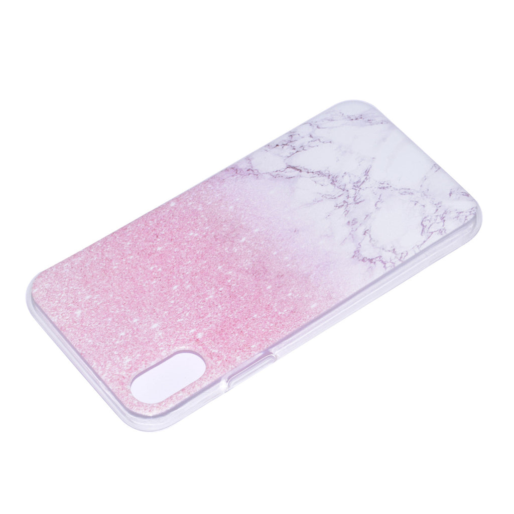 Marble iPhone Xs Case Silicon Soft TPU Slim Back Case Protective Skin