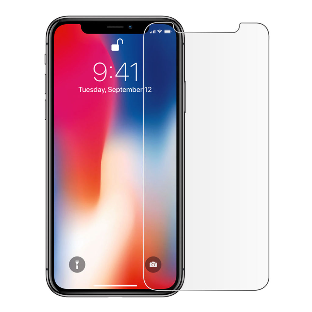 iPhone Xs Max Tempered Glass Screen Protector 2 Pack Film Anti-Scratch Screen Cover
