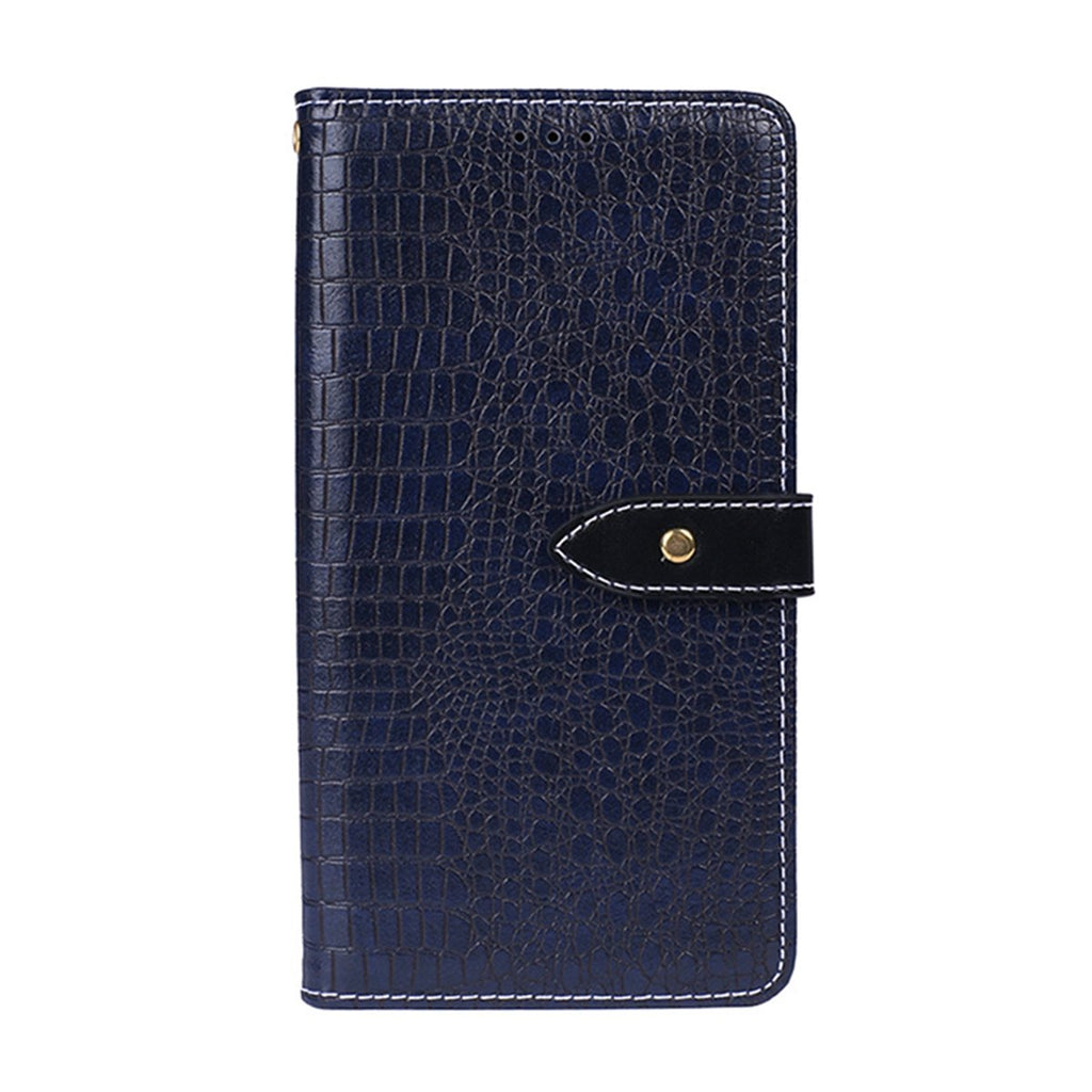 Pixel 4 Leather Case Shock-Absorption Full-Body Protective Cover Case Dark Blue