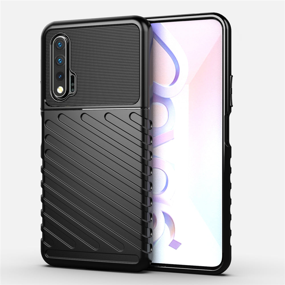 Huawei Nova 6 Case TPU Drop Resistant Cover Frosted Case Black