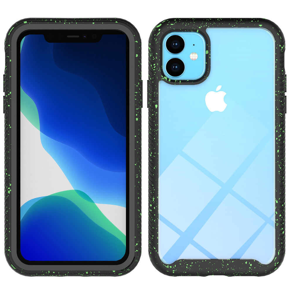 iPhone 11 pro Case TPU & PC Anti-scratch Protective Shell Starry Sky Phone Case Black