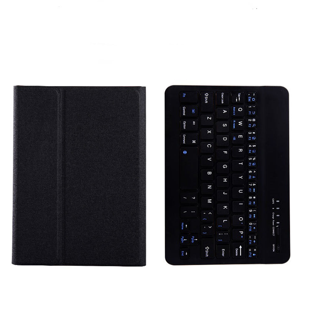 Bluetooth Keyboard Rechargeable Slim BT Wireless Keyboard for iPad 10.2 inch 2019 Bluetooth 3.0 Black