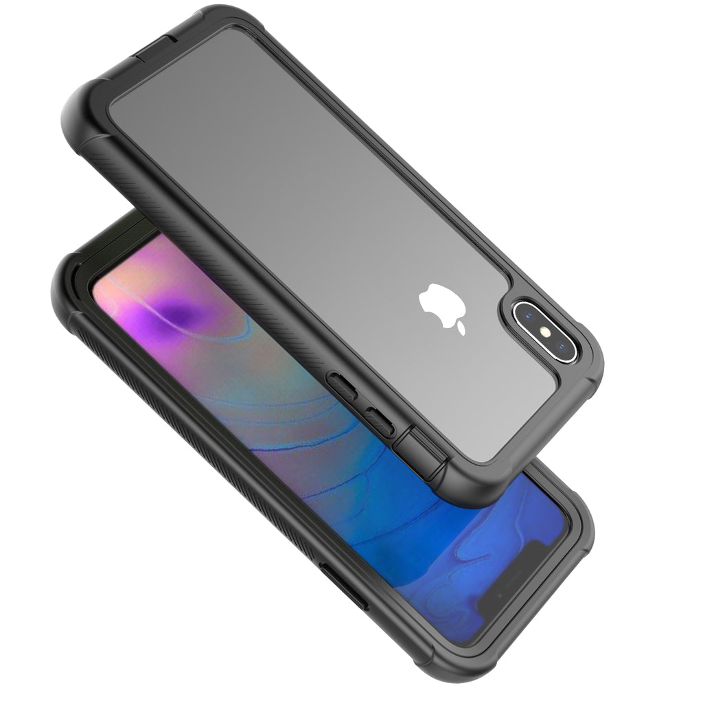 iPhone Xs Max Case Tempered Glass Back Cover
