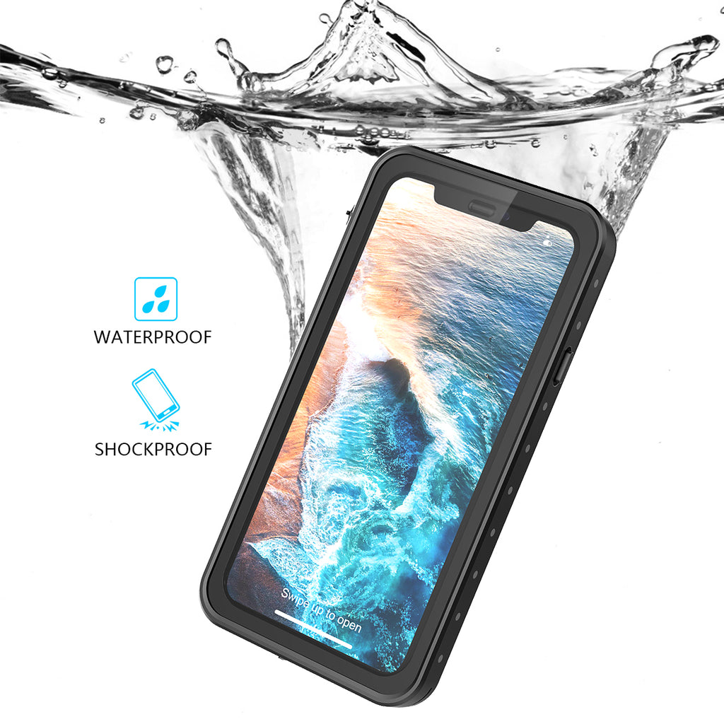 iPhone XR Waterproof Phone Case Thin Skin Fashion Dot Design