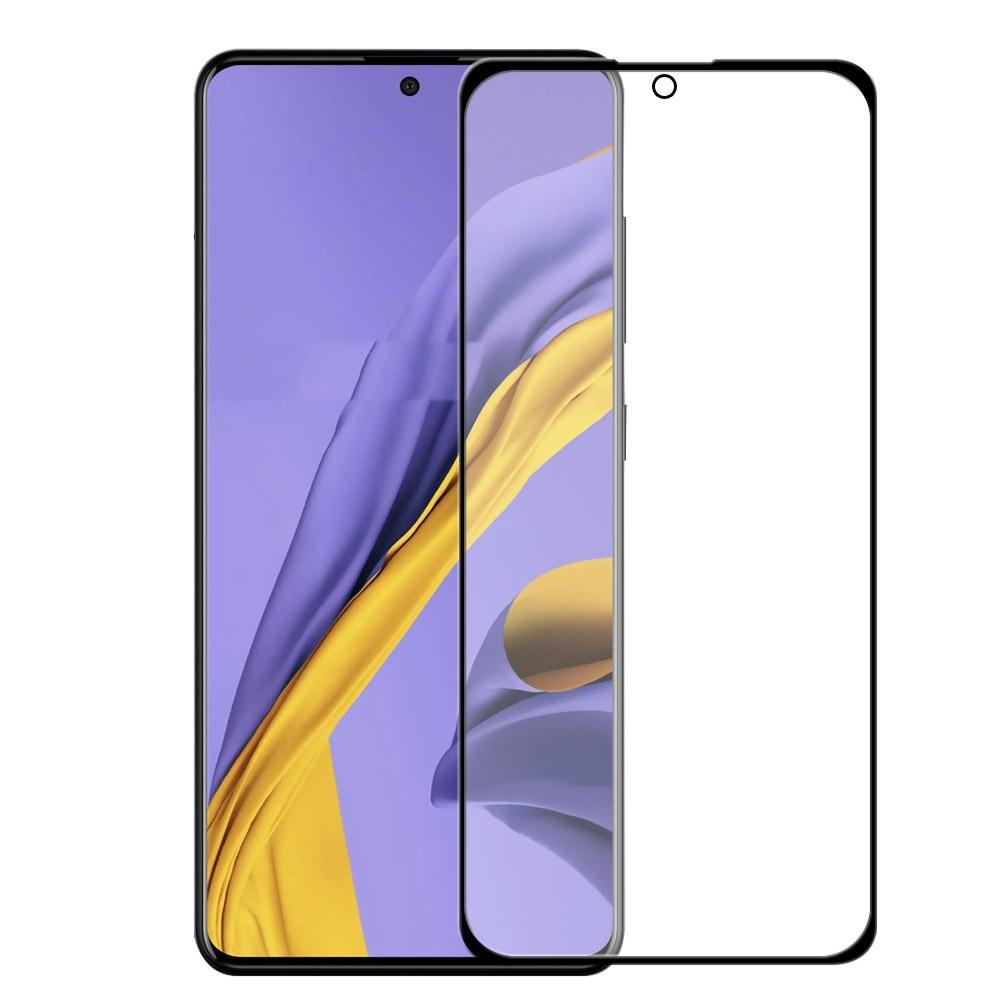 Screen Protector for Samsung A51 Tempered Glass Scratch Resistant Anti Fingerprint Film 1 Pack