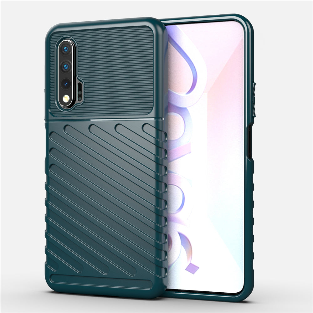 Huawei Nova 6 Case Ultra Slim Soft TPU Phone Case Protective Cover Dark Green