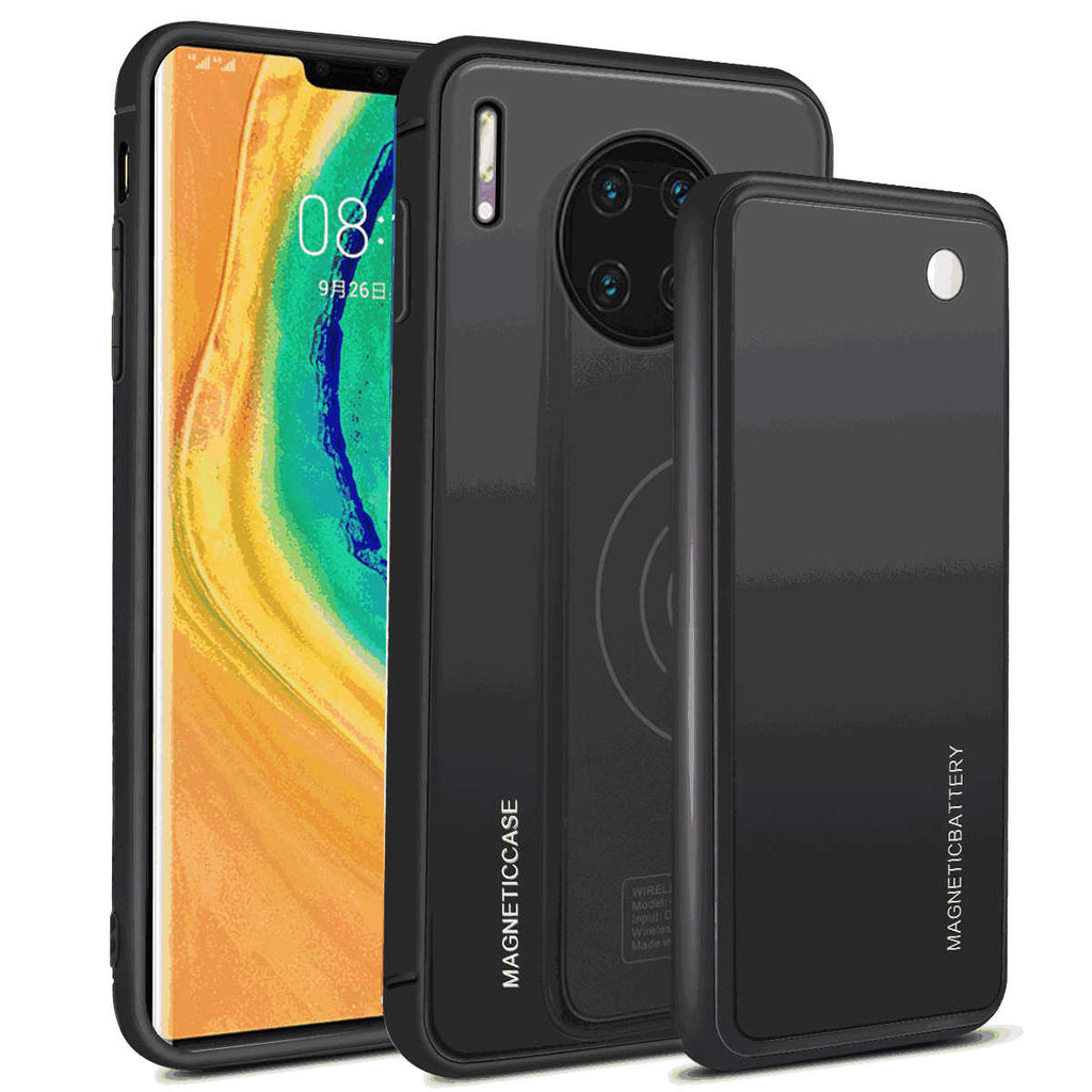 Huawei Mate 30 Pro Battery Charge Case 5000mah Portable Thin Battery Backup Black