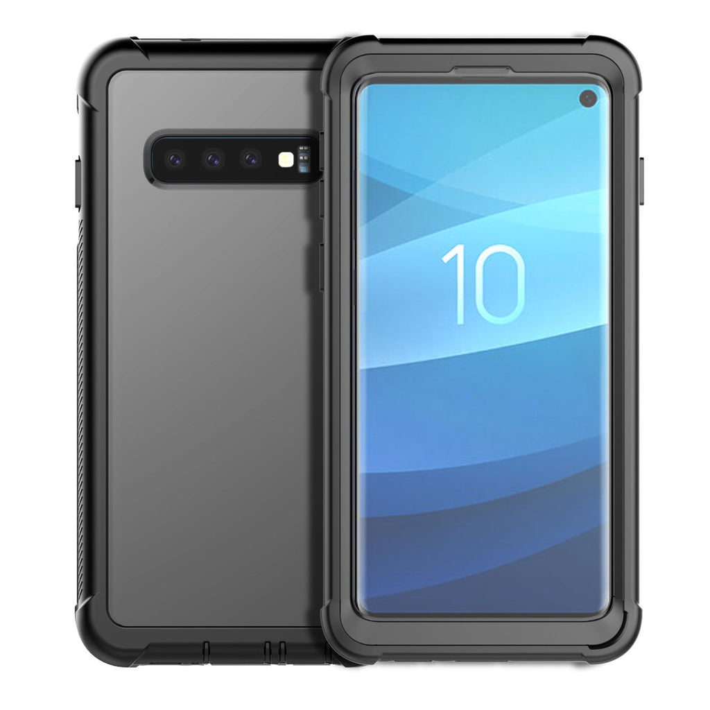 Samsung Galaxy S10 Phone Case Rugged Clear Hybrid Cover