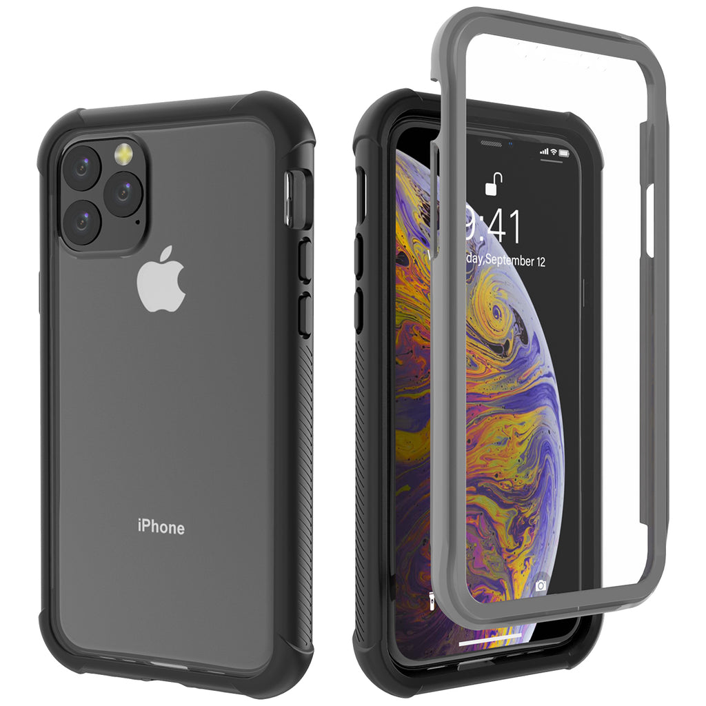 Case for iPhone 11 pro 5.8inch Shockproof Hybrid Protective Case Black