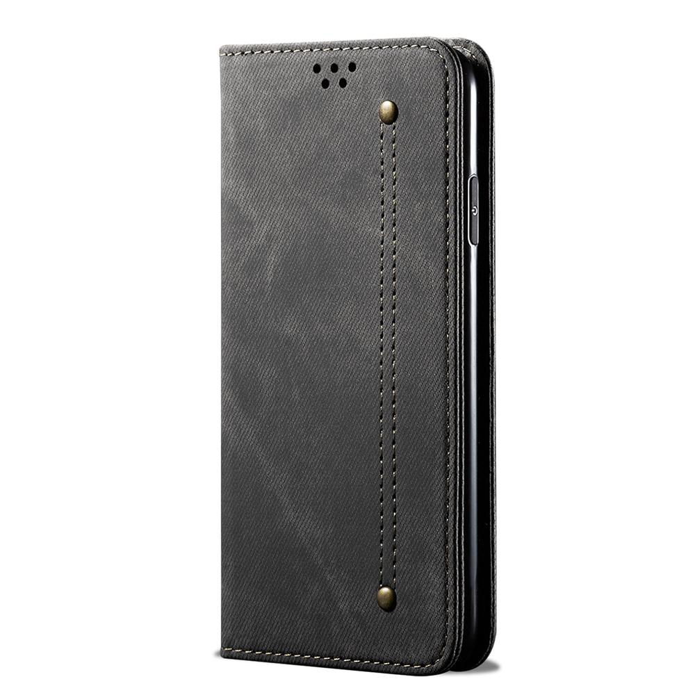 Wallet Case for Oneplus 7T Pro Credit Card & Cash Holder Leather Protection Case Black