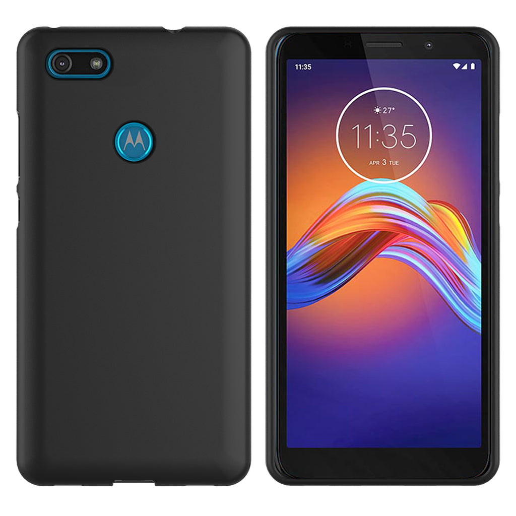 Moto E6 Play Case Slim-fit Shockproof Anti-Fingerprint Protective Case Cover For Motorola E6 Play