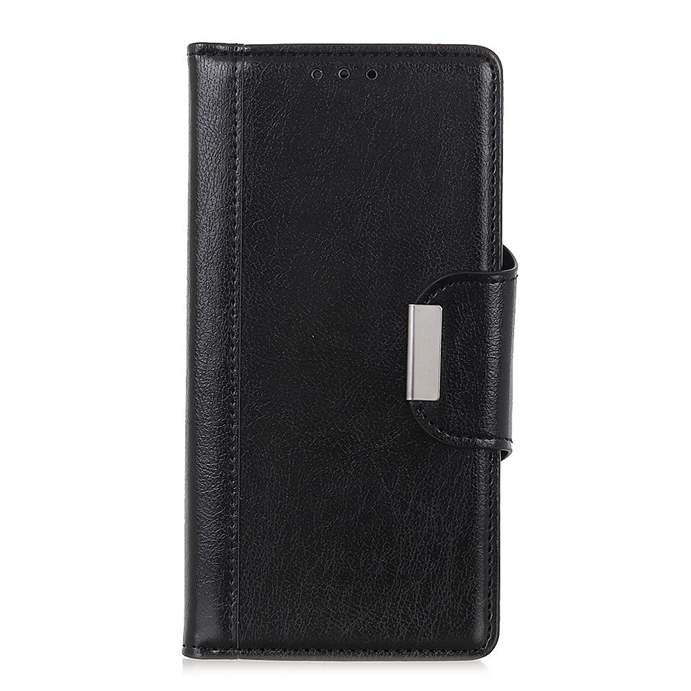 Wallet Case for Galaxy Note 10 plus Folio Stand with Credit Card Slot Black