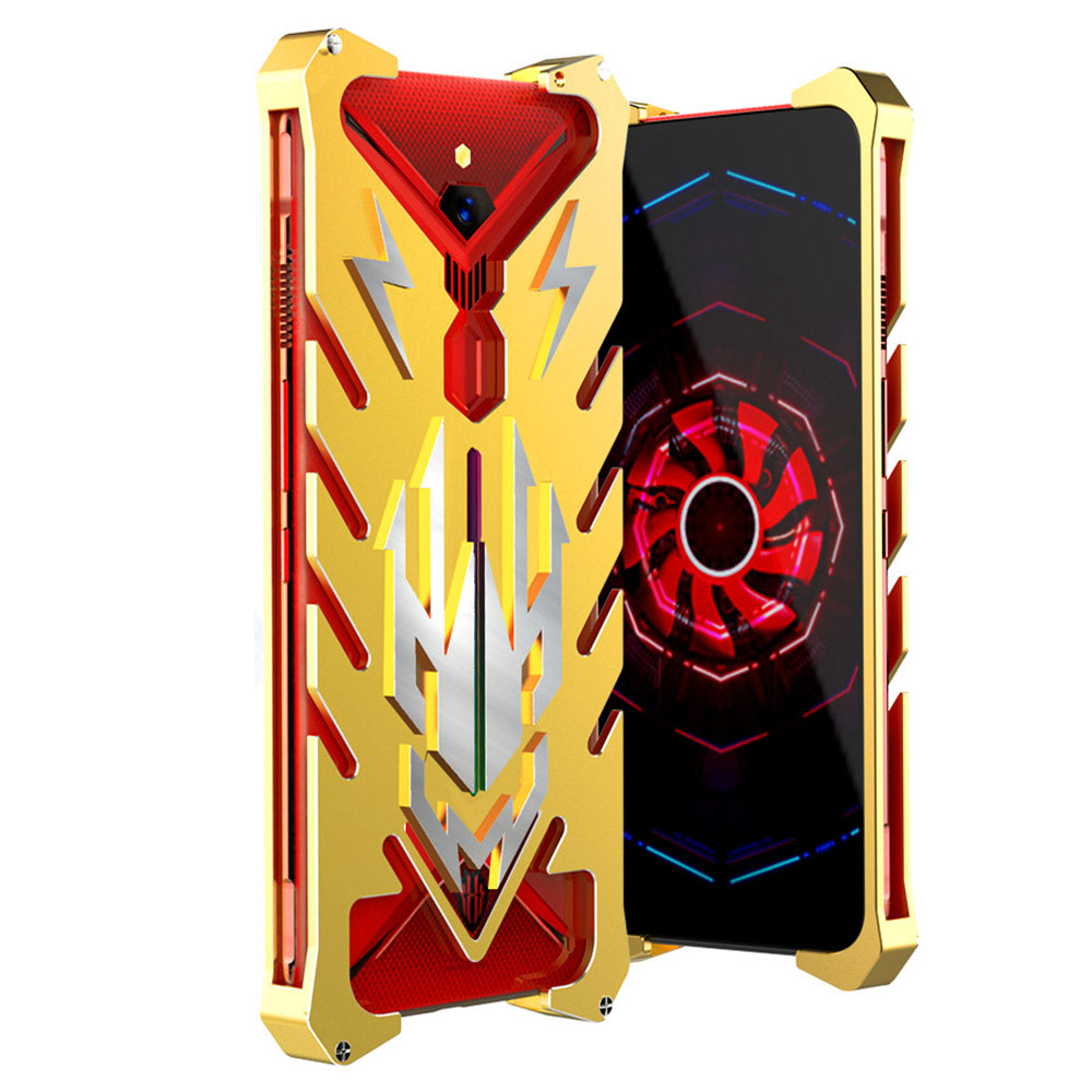 ZTE Nubia Red Magic 3 Case Heavy Duty Shockproof Protection Hybrid Protective Case Yellow