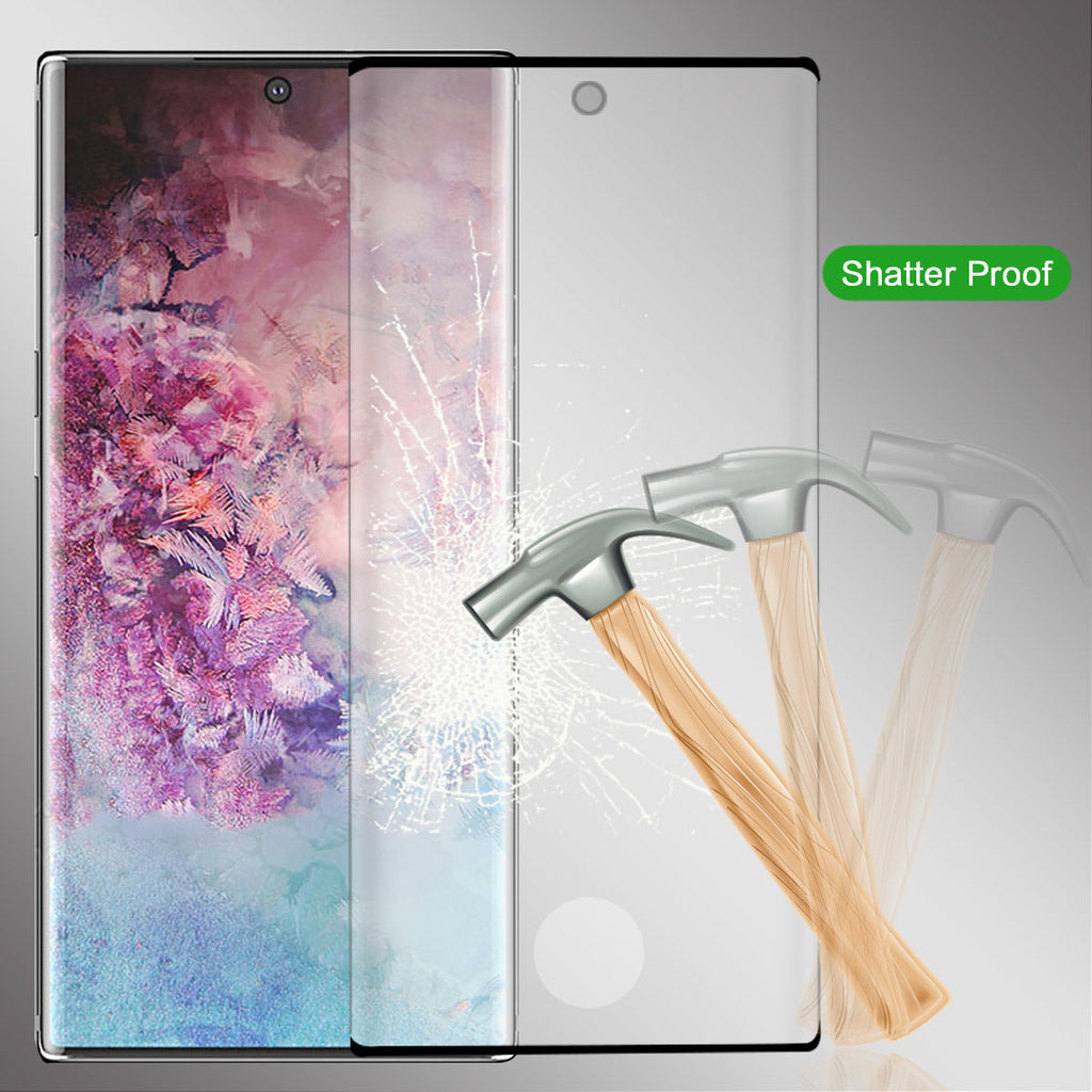 High Definition Tempered Glass Screen Protector for  Samsung Galaxy Note 10 2Pack