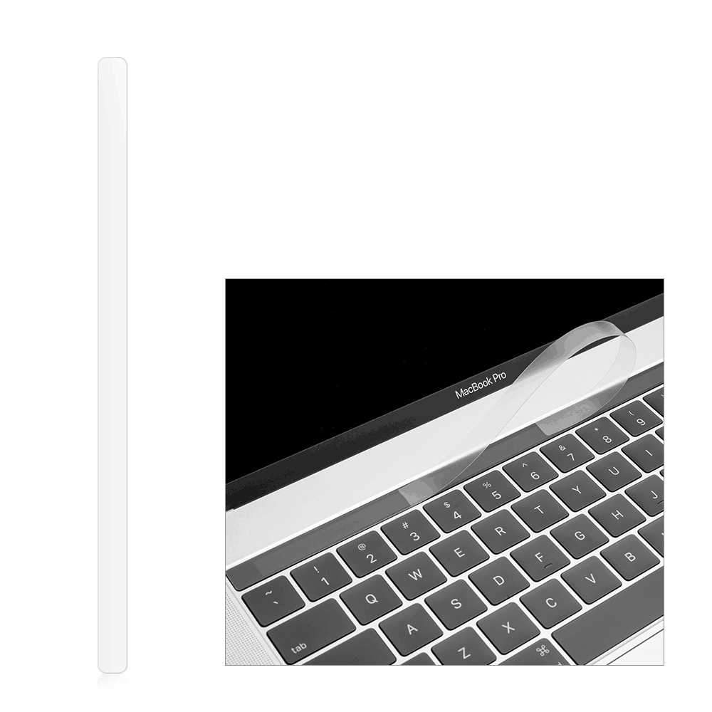 Touch Bar Protector Skin Film for MacBook Pro 16 Inch 2019 Released A2141 Touch Bar Protector 1 Pack