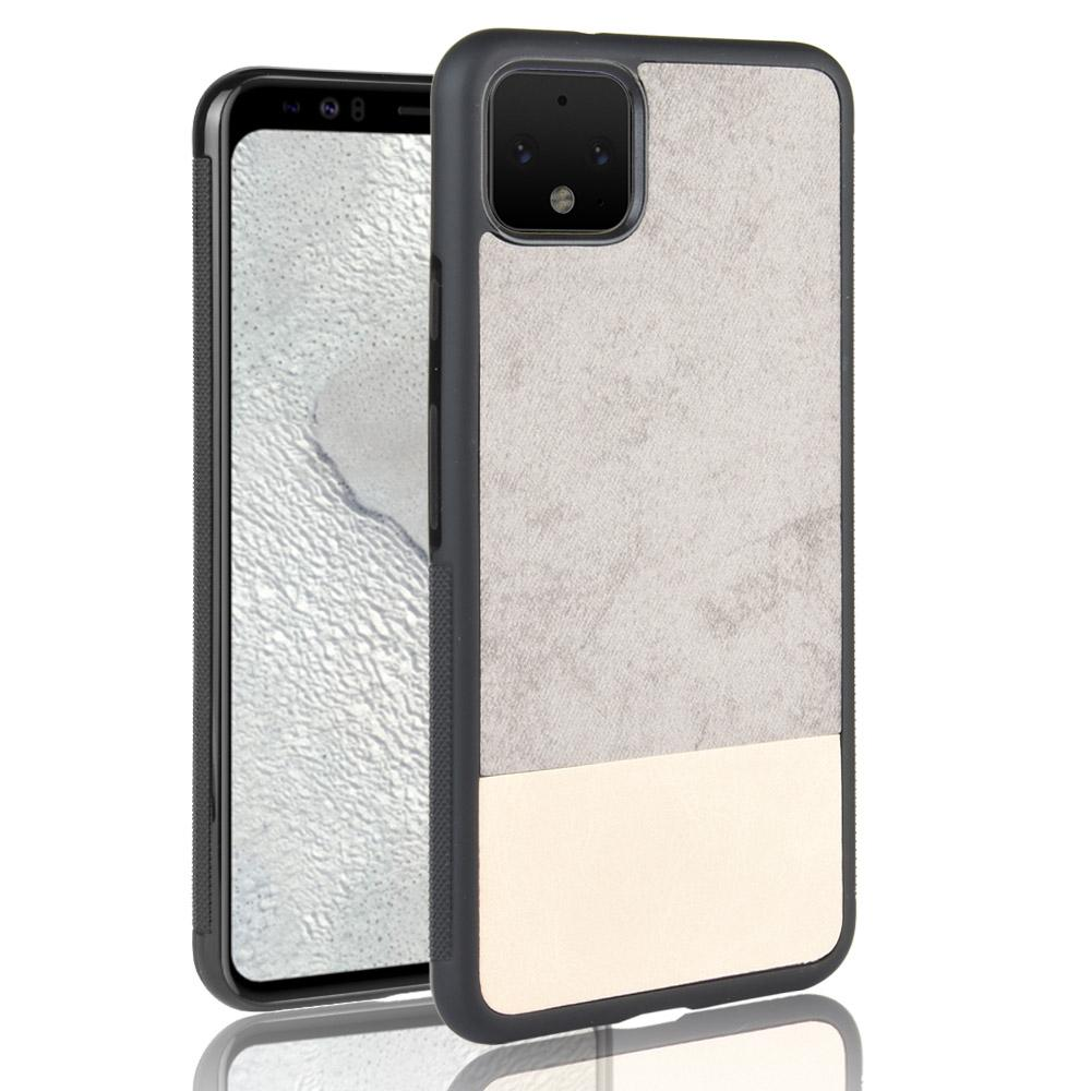 Pixel 4 Case Shock-Absorbing Protection Hard PC + Flexible TPU Frame Grey