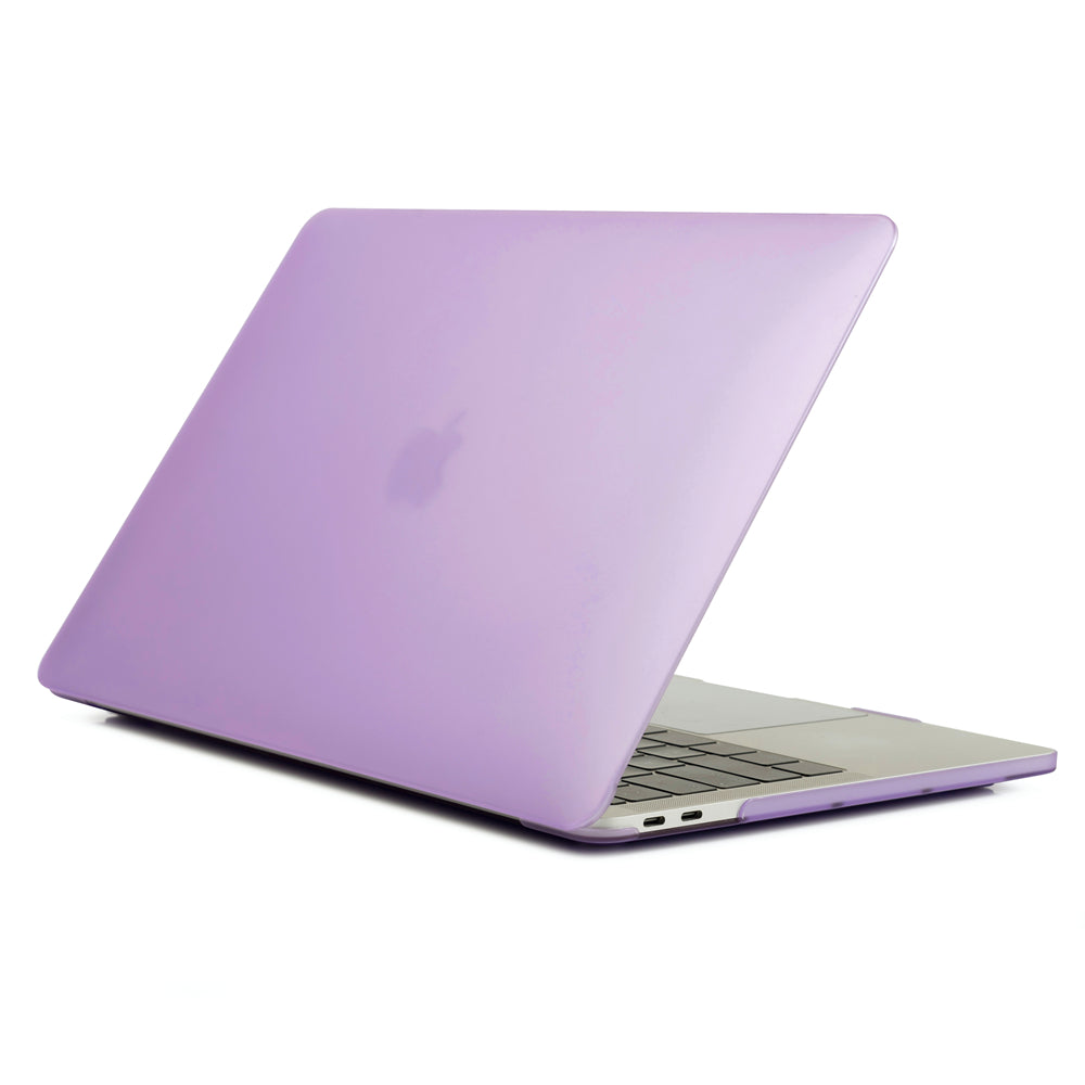 MacBook Pro 16 Inch Case PC Scratch Resistance Notebook Cover Frosted Protective Shell Purple