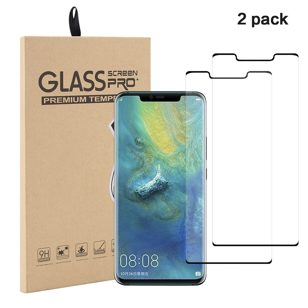 Huawei Mate 30 Pro Tempered Glass Screen Protector Anti-Scratch Film 2Pack