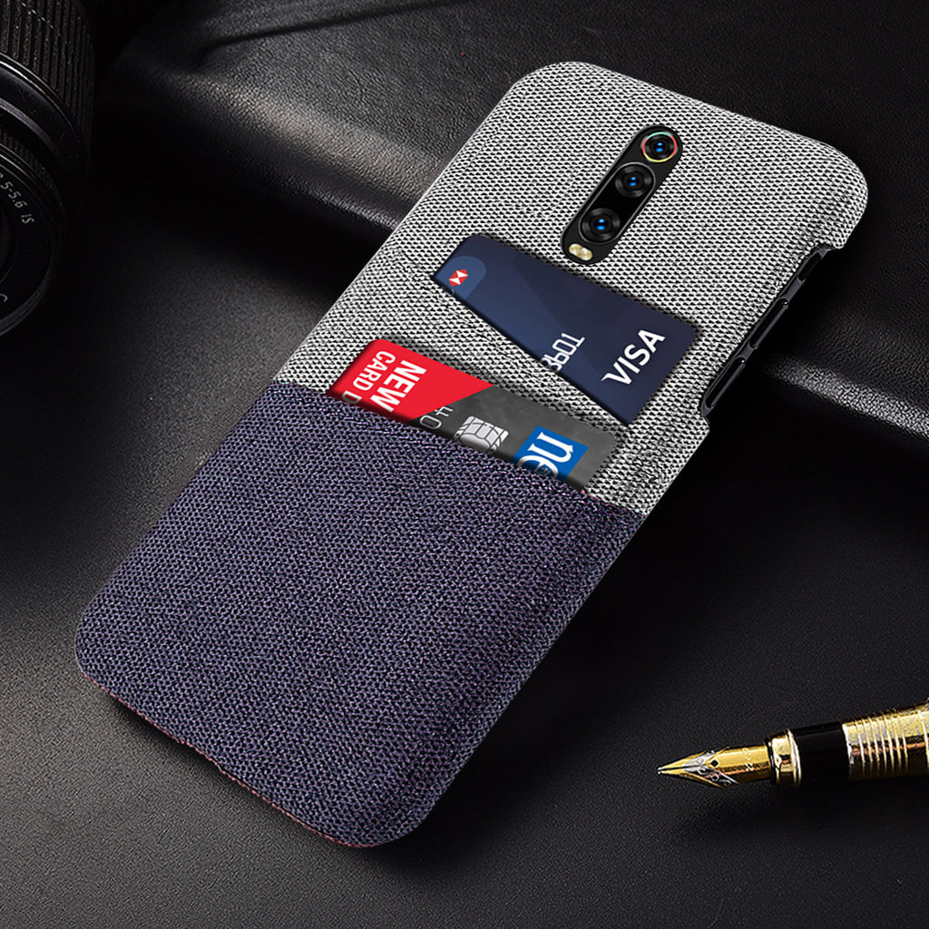 Redmi K20 Pro Case Fabric Cover Wallet With Card Holder