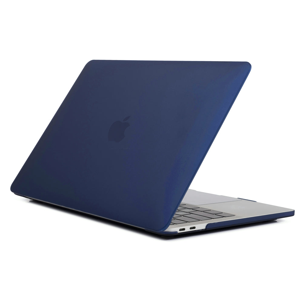 MacBook Pro 16 Inch Case 2019 Slim PC Frosted Cover Notebook Protective Shell Dark Blue