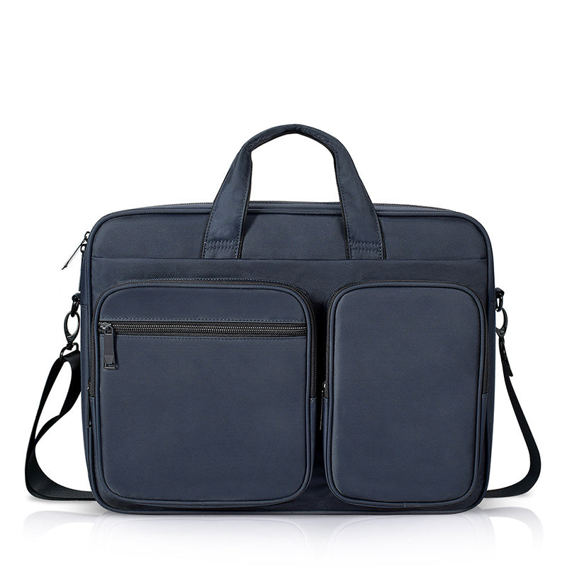 360 Protective Laptop Shoulder Bag for 16-inch New MacBook Pro 2019 Water-resistant Business Office Case Navy Blue