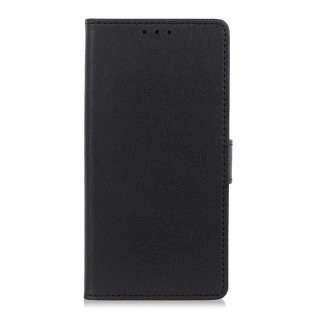 Leather Covers for Galaxy Note 10 plus with 2 Credit Card Slots & Kickstand Black