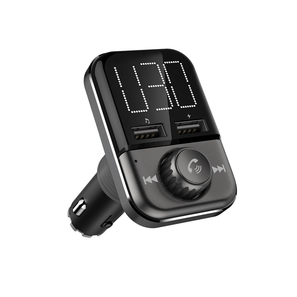 Bluetooth FM Transmitter for Car Radio Transmitter Hands Free Dual USB Port