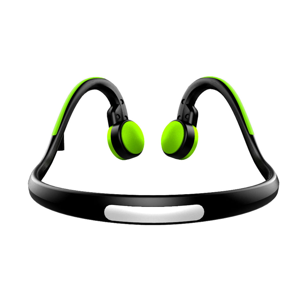 Wireless Earbuds Bluetooth Bone Conduction Headphones Noise Cancelling Sports Earphones Green