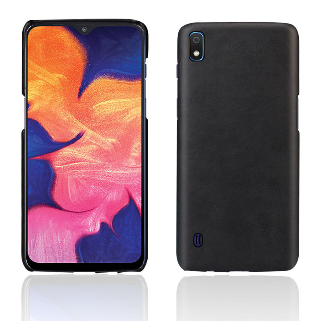 Galaxy A10 Slim Fit Hard Case Matte Finish Shock Absorption Cover Black