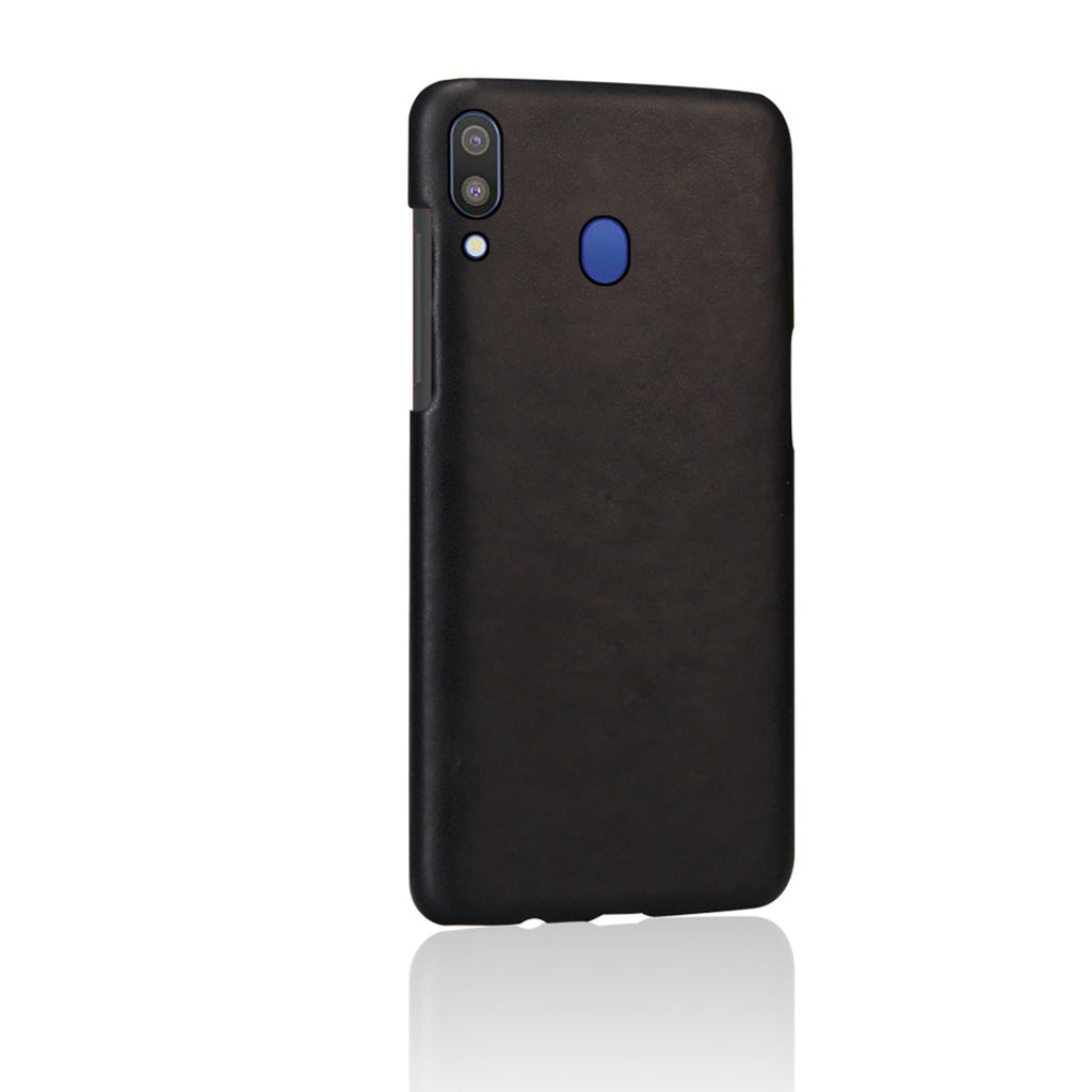 Galaxy A20 Case Ultra-Thin PC Shockproof Protective Hard Cover Black