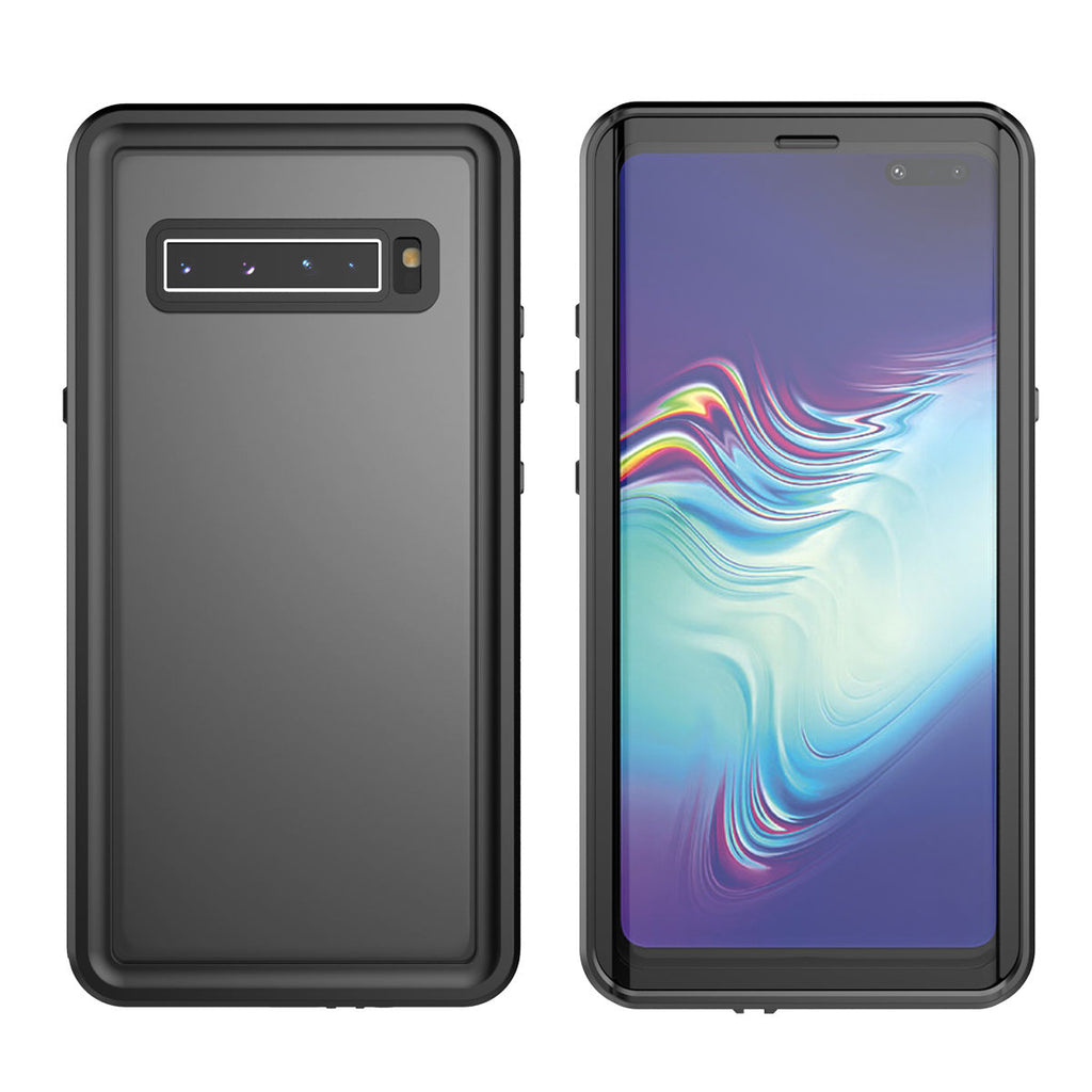 Samsung Galaxy S10 5G Case IP68 Waterproof Built-in Screen Protector Black