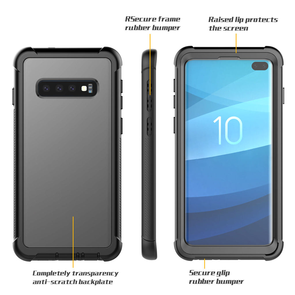 S10 Plus Case Samsung Galaxy Heavy Duty Protection Shockproof Cover