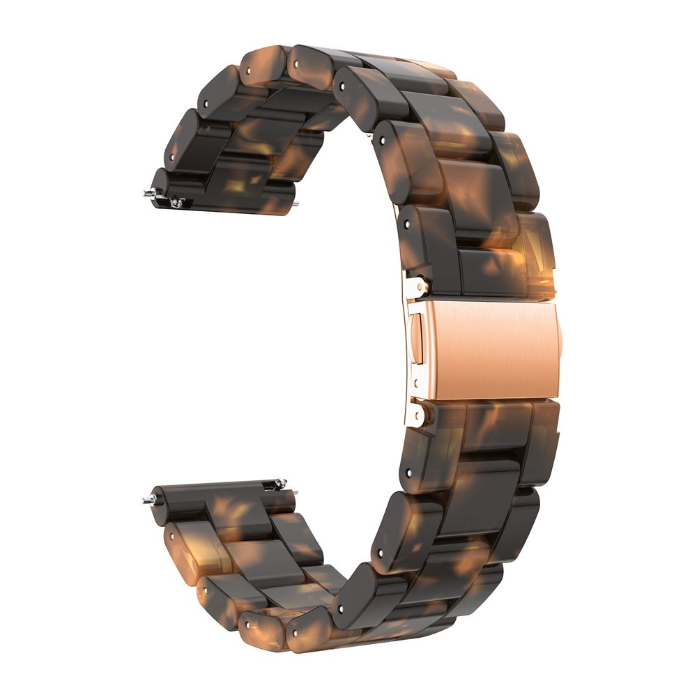 Galaxy Watch Band Stainless Steel Bracelet for 42mm Samsung Smart Watch Tortie