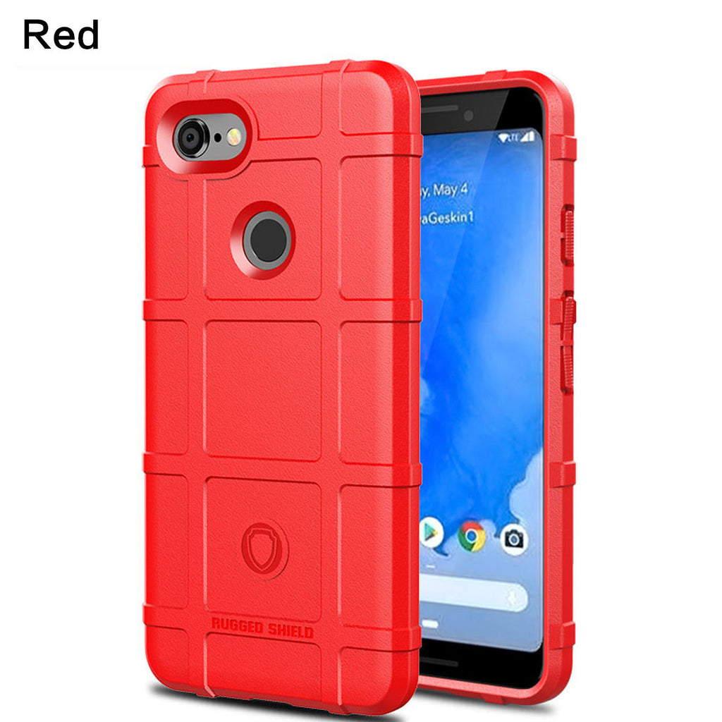 Google Pixel 3a XL Case TPU Anti Shock Phone Cover Red